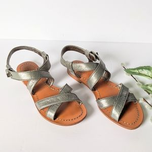 Coach strappy sandals size 7.5B